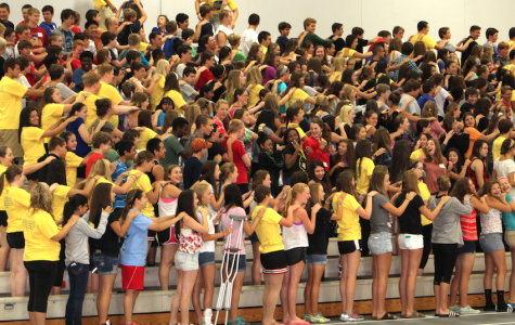 Link Crew leaders welcome class of 2018