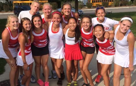 Freshman Friday: Sasha Milbeck aces her way through freshman year