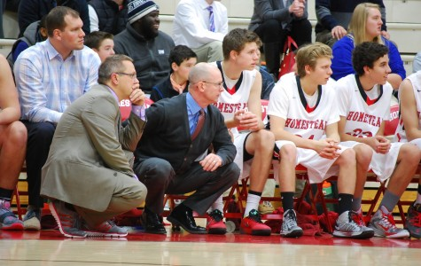 Homestead's boys basketball falls short to Muskego