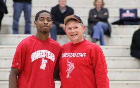 Boys basketball honors teachers