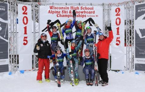 Varsity ski season comes to a close