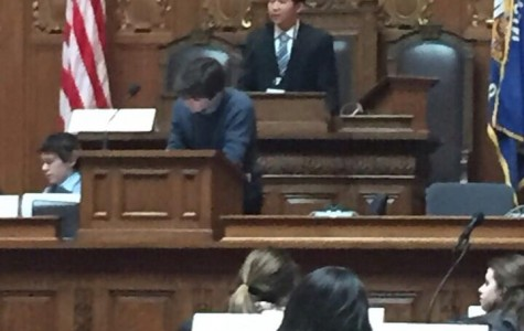 Freshman experiences a day in the life of a politician