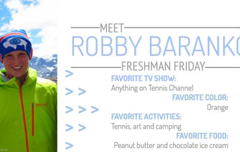 Freshman Friday: Baranko serves his way through high school