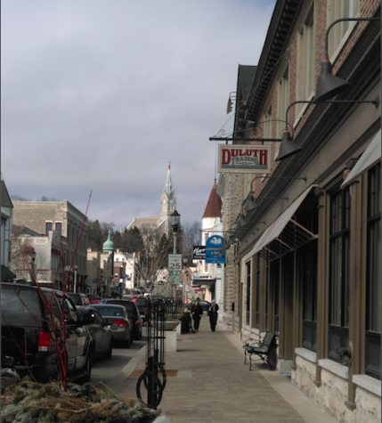 Franklin street has many shops that one can easily spend a day exploring