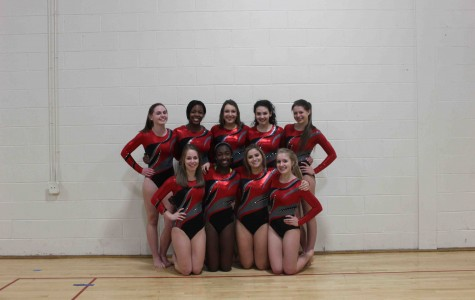 Girls varsity gymnastics finishes strong at sectionals
