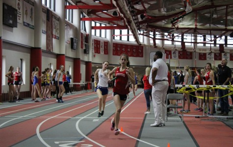 Girls track plans to place high at indoor conference