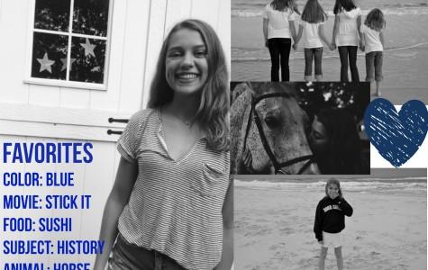 Freshman Friday: Annie Thomas splashes her way into high school