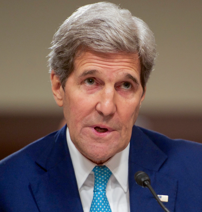U.S.+Secretary+John+Kerry+testifies+about+the+Iran+nuclear+deal+before+the+Senate+Foreign+Relations+Committee+on+July+23%2C+2015+in+Washington%2C+D.C.+The+first+significant+talks+in+regards+to+the+creation+of+the+deal+began+in+April+27%2C+2015%2C+when+Secretary+Kerry+and+Iranian+Foreign+Minister+Mohammad+Javad+Zarif+met+in+New+York+during+the+Nuclear+Nonproliferation+Treaty+Review+Conference%2C+starting+the+technical+drafting+work+on+the+annexes+of+the+agreement.+Image+from+Flickr