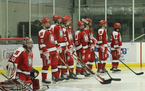 Boys hockey dominates in first round of playoffs