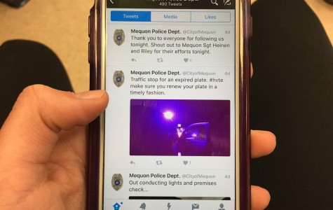 Mequon Police Dept. shows a night on patrol by live-tweeting St. Patrick's Day