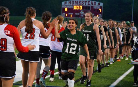 Girls lacrosse claims victory over Kenosha