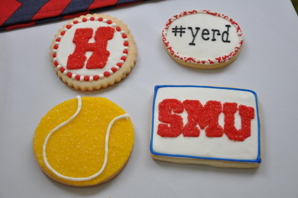 Nicole Martin, Class of '15, displayed cookies representing her time at Homestead at her graduation party last summer.