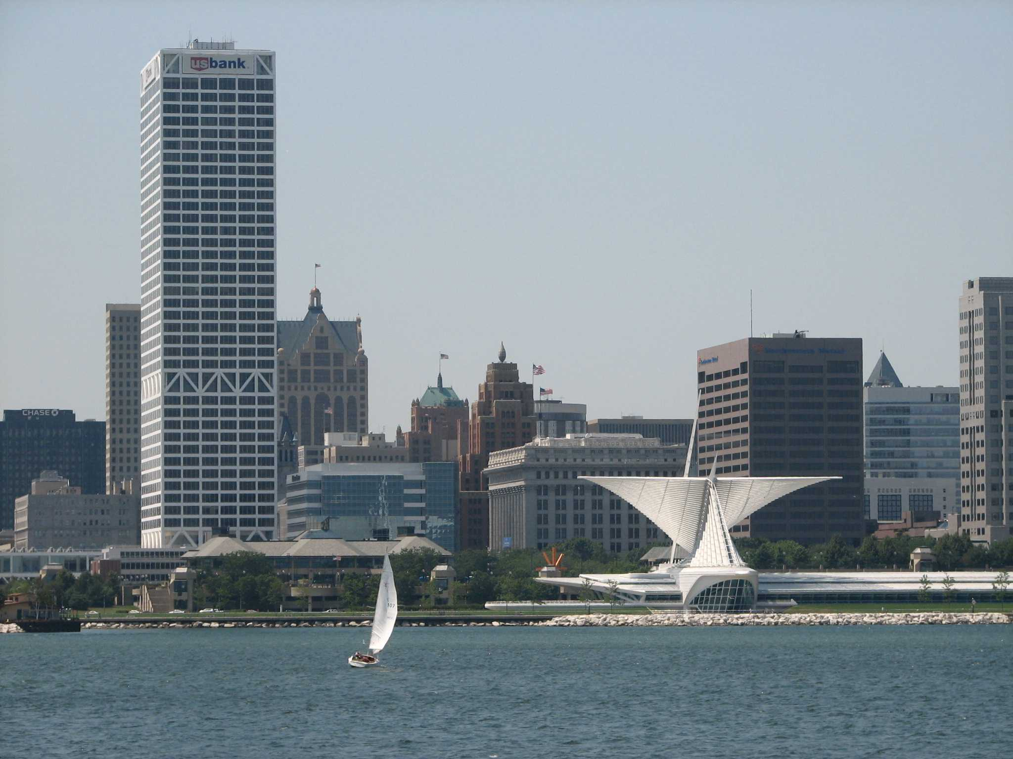 The Milwaukee skyline is getting a new addition: the Northwestern Mutual Building. Used with permission from Creative Commons.
