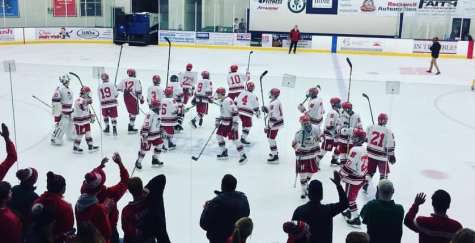 Boys hockey team wins first game of the season