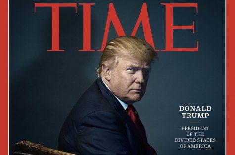 Trump's magazine cover conveys hidden messages