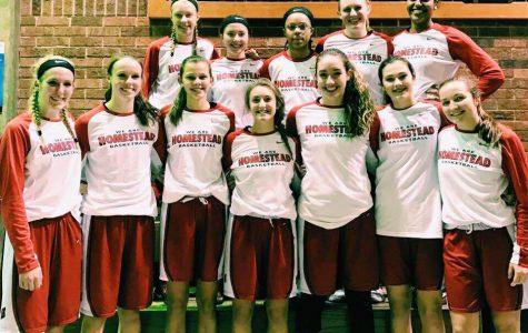 Girls varsity basketball team defeats Nicolet