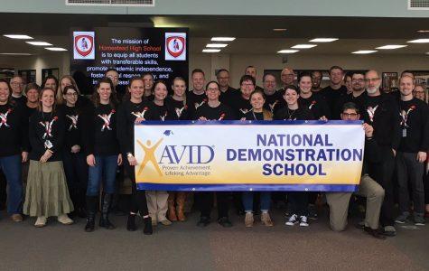 Homestead named AVID national demonstration school