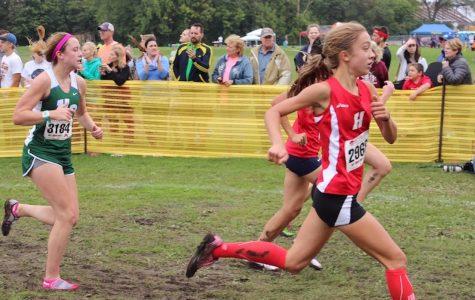 Freshman Friday: Ava Wojnowski sprints her way into freshman year