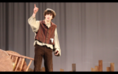 LIGHTS, CAMERA, ACTION: Ginkel mirrors his own life as he stars in Fiddler On the Roof