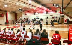 Girls varsity basketball defeats tough opponent
