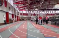 Varsity girls track and field team competes at Carthage College