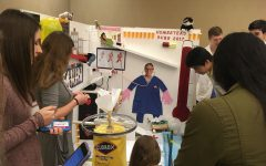 Students compete in Rube Goldberg competition
