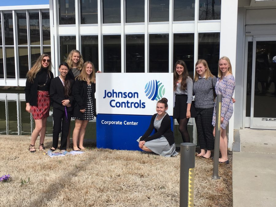 The+GEMS+club+attended+a+Prep-Pro+workshop+at+Johnson+Controls+to+learn+about+STEM+careers.++