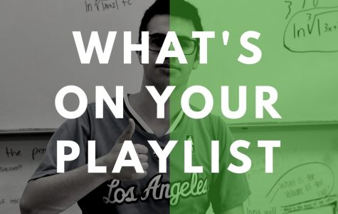 What's on your playlist: Josh Lookatch