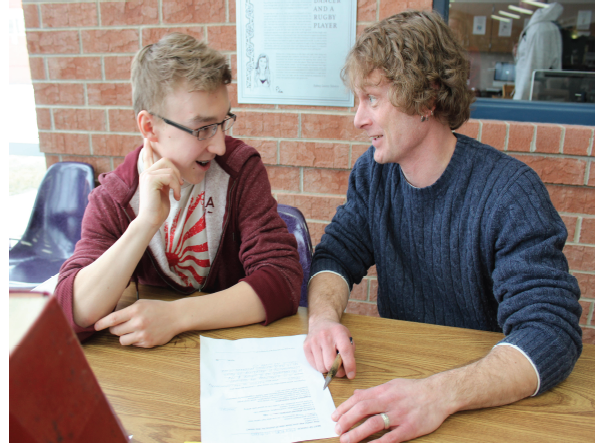 Writing Lab offers services for both students and faculty