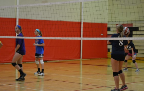 Aces over Touchdowns: Freshman girls volleyball team misses Homecoming football game
