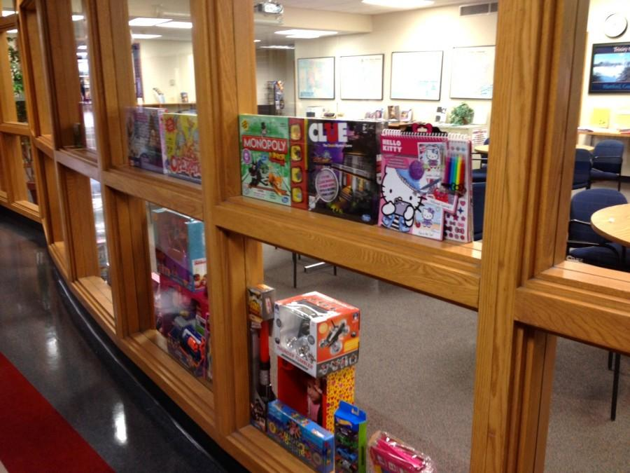 Once the toys reach Kapco, they are sorted in the hallways and collection rooms.