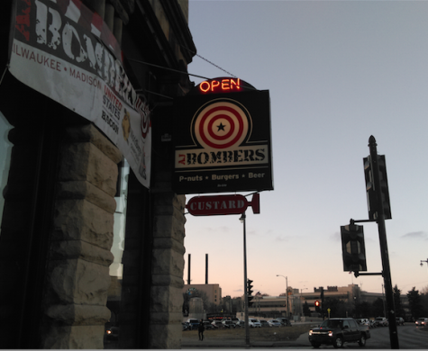 Located on the corner of Knapp and Water Street is  one of Milwaukee's favorites, Aj Bombers