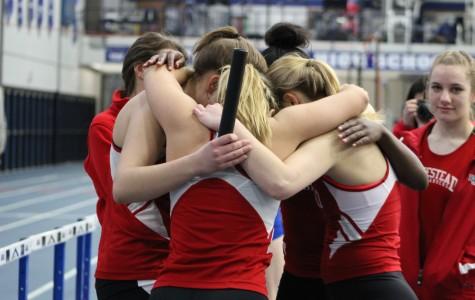 Girls snag indoor conference title