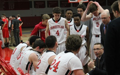 Boys varsity basketball outplays Sussex-Hamilton