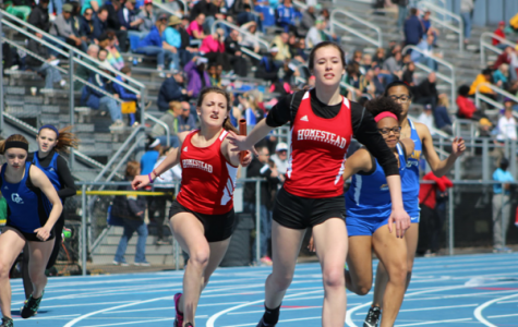 Girls track off to a running start in the outdoor season