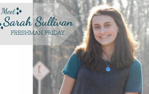 Freshman Friday: Sarah Sullivan writes her way through high school