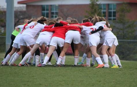 Girls soccer battles through injuries