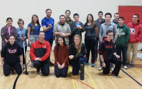 Olympian visits Homestead gym class