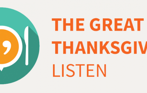 Students participate in Great Thanksgiving Listen
