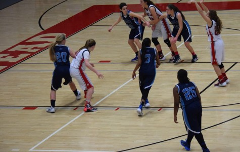 Girls basketball on top of conference play
