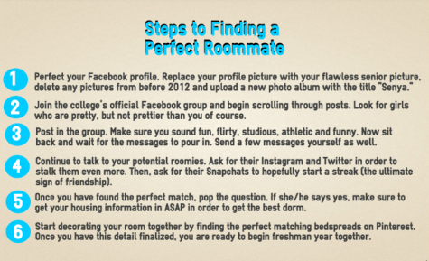 process essay about how to find the perfect roommate Okay, this is not the only way to write your stanford (or any) roommate essay, but it is a good way and it's based on an essay that i think is great.