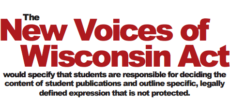 New Voices of Wisconsin aims to protect student journalists' rights