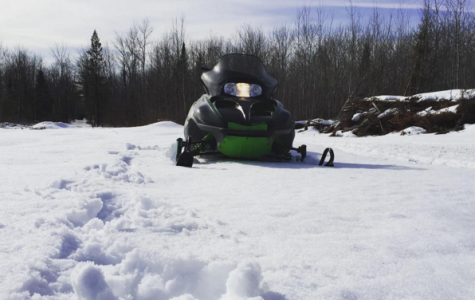 Snowmobiling since sixth grade