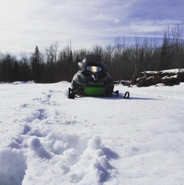 Snowmobiling since sixth grade