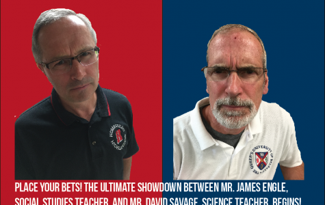 The Ultimate Showdown of Ultimate Destiny: Mr. James Engle and Mr. David Savage face off in a diss match