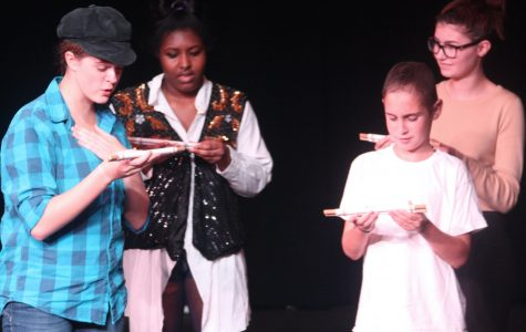 Students perform unrehearsed Shakespeare