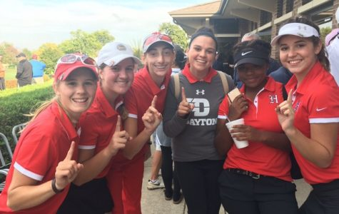 Girls varsity golf places first in sectionals, heading to state