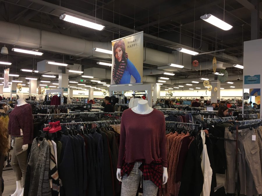 Nordstrom Rack during Black Friday shopping. (photo credit: Tori Cayle)