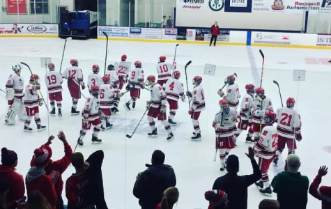 Boys hockey team wins first game of the season