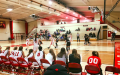 Girls varsity basketball defeats tough opponent